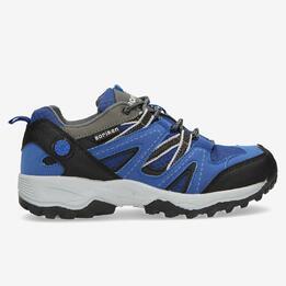 Zapatillas Montaña BORIKEN Azul Negro Niño (36-39)