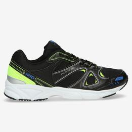 Zapatillas Running IPSO TECH Negro Niño (36-39)