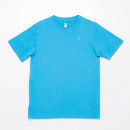 Camiseta Manga Corta UP BASIC Azul Vivo Niño (10-16)
