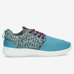 Zapatillas Rejilla UP DYLAN Azul Mujer