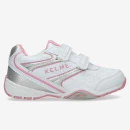 Zapatillas Kelme Niña Blancas