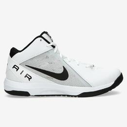 NIKE THE AIR OVERPLAY Botas Baloncesto Blancas Hombre