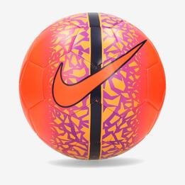 NIKE Q4 REACT Balón Fútbol Talla 5 Naranja