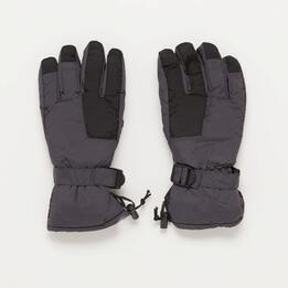 Guantes Nieve Gris Negro Boriken