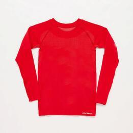 Camiseta Interior BORIKEN  Sin Costuras Rojo Niño (6-8)