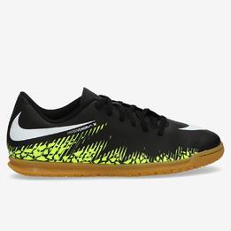 Botas Fútbol Sala Nike Hypervenomx Phade III Neymar Negras Niño