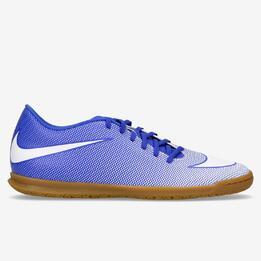 Botas Fútbol Sala Nike Bravata X Azules Hombre