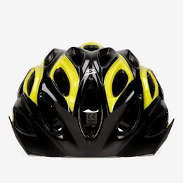 SPIUK TAMERA Casco Bicicleta Negro Amarillo