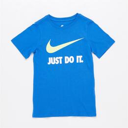 NIKE SWOOSH Camiseta Azul Niño (10-16)