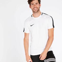 NIKE ACADEMY Camiseta Fútbol Blanca Hombre