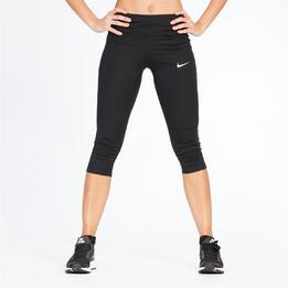 NIKE POWER ESSENTIAL Mallas Running Negras Mujer