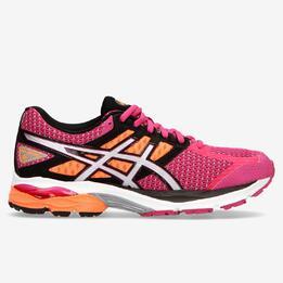 Zapatillas Running Asics Gel Kumo 6 Rosas Naranjas Mujer