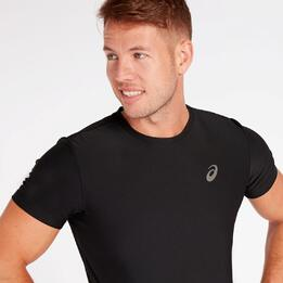 Camiseta Running Asics Negro Hombre