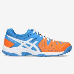 ASICS GEL PRO 3 Zapatillas Pádel Naranja Azul Niño (36-40)