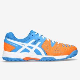 ASICS GEL PADEL PRO 3 Zapatillas Pádel Naranja Azul Hombre
