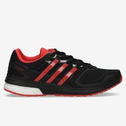 ADIDAS QUESTAR BOOST Zapatillas Running Negro Rojo Mujer