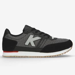 Sneakers Retro Kelme Negras Hombre