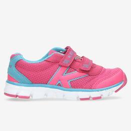 KELME Zapatillas Rosa Velcro Niña (22-27)