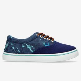 Zapatillas Lona Azul Marino Hombre Up