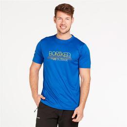 Camiseta Boriken Azul Hombre