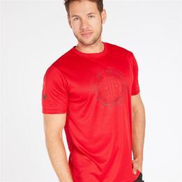 Camiseta Manga Corta BORIKEN Roja Hombre