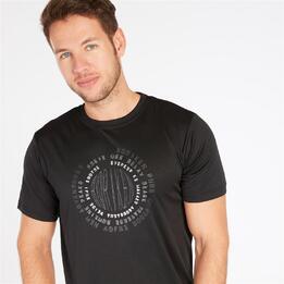 Camiseta Manga Corta BORIKEN Negra Hombre