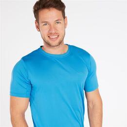 Camiseta Manga Corta BORIKEN Azul Hombre