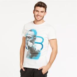 PUMA Camiseta Bolt Blanca Hombre
