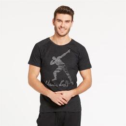 PUMA Legend Tee Camiseta Negra Hombre