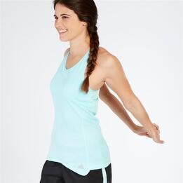 ADIDAS Camiseta Running Mariposa Azul Mujer