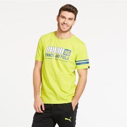 PUMA Camiseta Verde Hombre