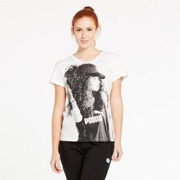 PUMA Camiseta Blanca Mujer