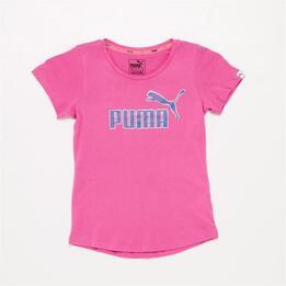 PUMA Camiseta Rosa Niña (8-16)