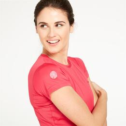 Camiseta Montaña BORIKEN Rosa Mujer