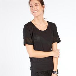 PUMA Camiseta Gym Negro Mujer