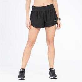 PUMA Pantalón Corto Gym Negro Mujer