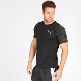 Camiseta PUMA Running Negra Hombre