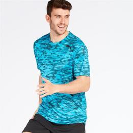 PUMA ESSENTIAL TECH Camiseta Running Azul Hombre