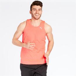 PUMA CORE RUN Camiseta Running Tirantes Coral Hombre