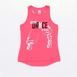 Camiseta Danza ILICO Coral Niña (10-16)