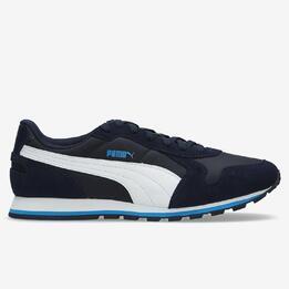 PUMA Sneakers Runner Azul Blanco Hombre