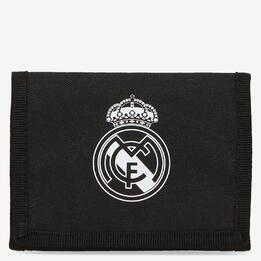 ADIDAS REAL MADRID Billetero Negro