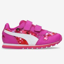 PUMA RUNNER Sneakers Fucsia Niña (20-27)