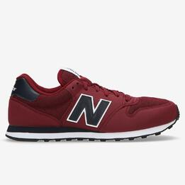NEW BALANCE 500 Sneakers Granate Hombre