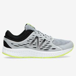 NEW BALANCE Zapatillas Running Grises Hombre