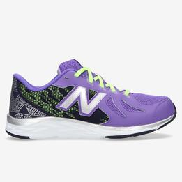 NEW BALANCE Zapatillas Running Morado Niña (36-40)