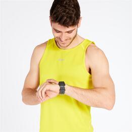 Camiseta Running Ipso Basic Verde Hombre