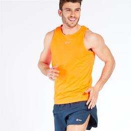 Camiseta Running sin mangas IPSO Naranja Hombre