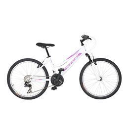 """Bicicleta Montaña MITICAL KATANA 24"""" 21V Blanco Morado"""