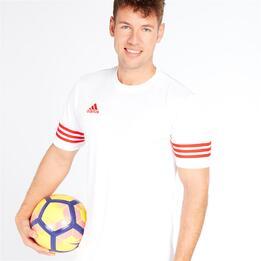 ADIDAS Camiseta Fútbol Blanco Hombre